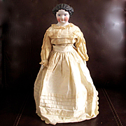 "Pretty High Brow China Doll 20"" Original Clothes"