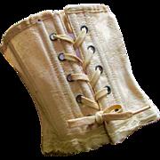 Doll Corset Brocade Original Ties - Red Tag Sale Item
