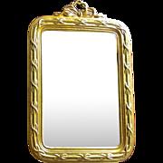 Erhard Sohn Ormolu Dollhouse Mirror Bows Fringe
