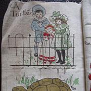 1905 Dean's Rag Zoo Book Gladys Hall Edwardian Children
