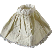 Wool Lace Feather Stitch Petticoat For Smaller Doll