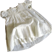Exceptional 1940's Batiste Embroidered Baby/Doll Dress By Yolande