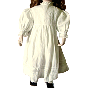 Edwardian Lace Gown For Larger Doll