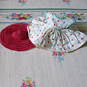 Cosmopolitan Dress For Ginger Horsehair Straw Hat
