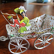 Babette Schweitzer German Soft Metal Horse Drawn Carriage Riders
