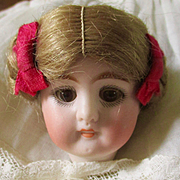 Beautiful German Mignonette Head Original Wig