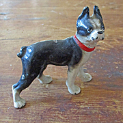 Hubley Miniature Cast Bull Dog Paperweight  For Dollhouse