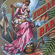1881 Hush-A-Bye Baby McLaughlin Bros. Illustrated