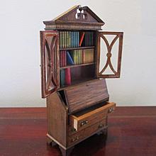 Vintage Secretary Books Dollhouse