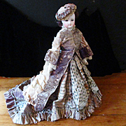 "15"" French Fashion Swivel Head Doll Original Clothes REDUCED JUST FOR CHRISTMAS"