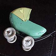 Art Deco Wyandotte Metal Doll Pram