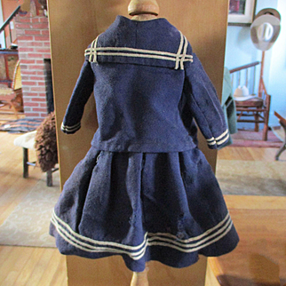 Sailor Suit Jacket Skirt Early 1900's