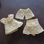 Lace Dress  Ensemble for Mignonette 3 Pieces