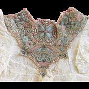 Antique Victorian Needlework Collar