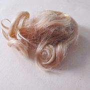 Blonde Mohair Antique Wig Mignonette
