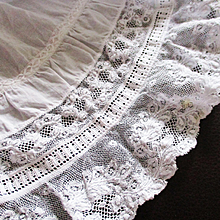 Lace Flounce For Doll Clothes