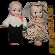 Nippon Kewpie Bride & Groom, For Your Stocking