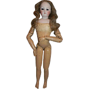 French Fashion, Articulated Wood Body