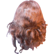 "Mohair French Fashion Doll Wig 7-1/4""-7-1/2"""