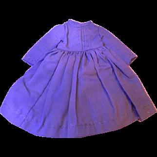 Original Blue Dress for Cabinet Size