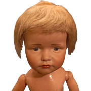 Blond Mohair Wig for Boy Doll