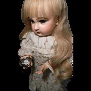 Doll Working Pocket Watch, w/opening Case