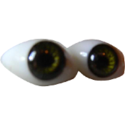Original French Paperweight Eyes, circa 1880's
