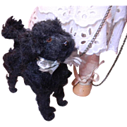 Poodle with Tape Measure Tail, Rare!