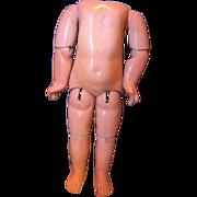 Early Jumeau Doll Body, for E.J. or Depose Jumeau