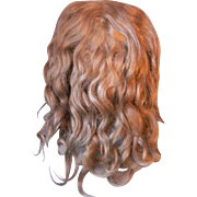 "Original Mohair Wig, 11"" Circumference"