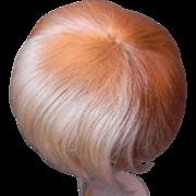 Original Blond Mohair boy/baby Wig