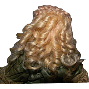 French Fashion Mohair Wig