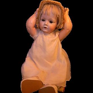 Adorable Nippon Life Size Baby w/Hilda Look