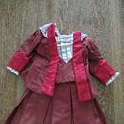 Vintage French or German Doll Dress