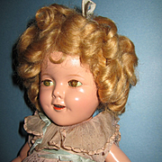 "All Original Composition Ideal 16"" Shirley Temple Doll"