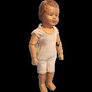 """Rare 14"""" Schoenhut Character Doll"""
