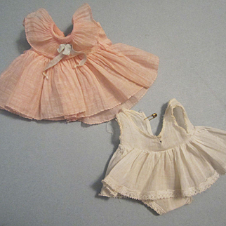 "Ideal Dress and Slip for 11"" Shirley Temple Composition Doll"