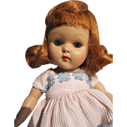 Vogue 1952 Hard Plastic Strung Ginny Doll