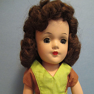 "Vintage 14"" Mary Hoyer Doll"
