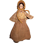 Antique Papier Mache Milliner Model Doll