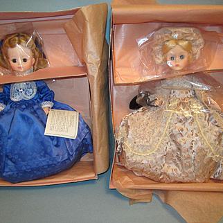Madame Alexander First Lady Doll Martha Washington and Abigail Adams