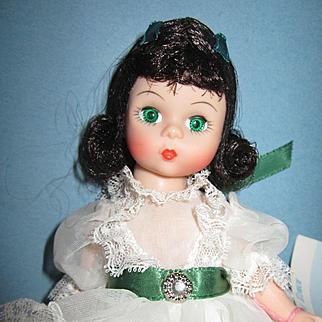 "Madame Alexander 8"" Scarlett MIB"