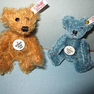 Steiff Club Bears 1998 and 2002