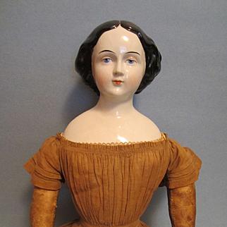 """Early 27"""" Jenny Lind China Doll"""