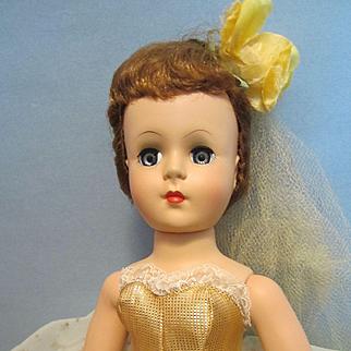 Beautiful Nancy Ann Style Show Doll Golden Gleam