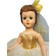 Beautiful Nancy Ann Style Show Doll Golden Gleam