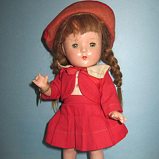 """Effanbee 11"""" Composition Patsy Jr. Doll"""