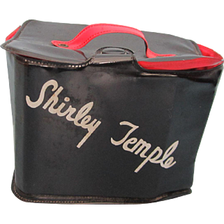 Vintage 1950's Shirley Temple Vinyl Purse