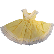 """Rare Mary Hoyer Tagged Dress for 10"""" Doll"""
