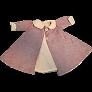 "Vintage Madame Alexander Tagged Coat for 15"" Doll"